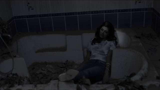 Karva kannada death bathtub scene