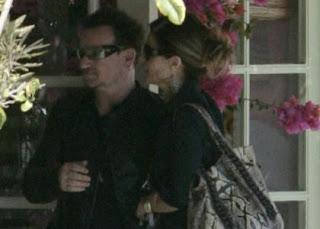 Bono y Maria Shriver en California en Mayo 2011