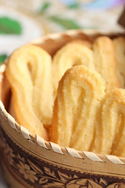 biscuits beurre vanille simples