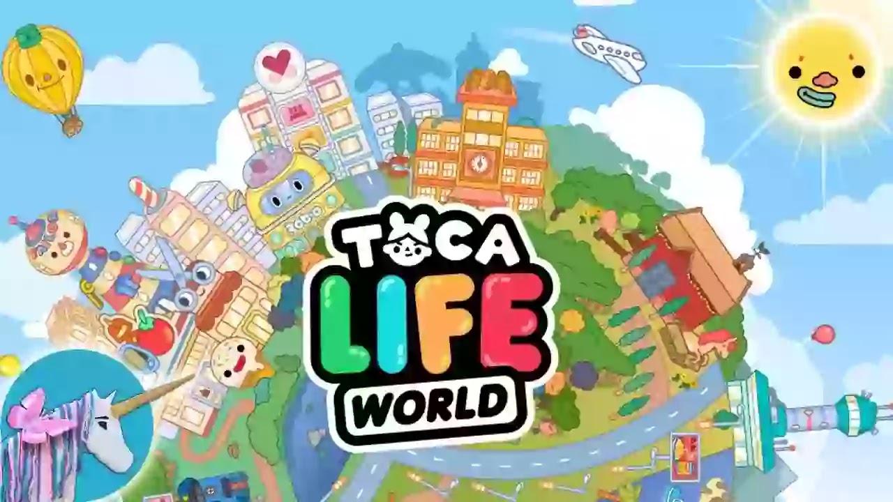 عالماً من المرح للأطفال في Toca Life World.