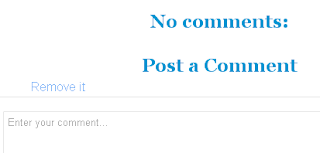 hide comment box in blogger