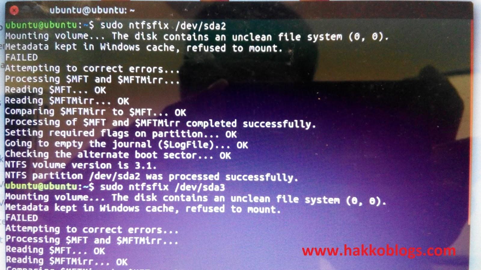 Windows failed to resume from hibernate with error status
