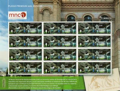 Pliego Premium 2016 Museo Nacional de Ciencias Naturales