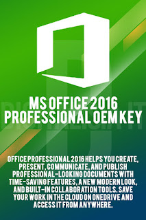 Buy MS Office 2016 Professional OEM Key | Create & share professional-looking documents ONLY €24.99