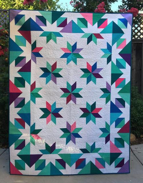 Confetti Star Quilt - Tutorial