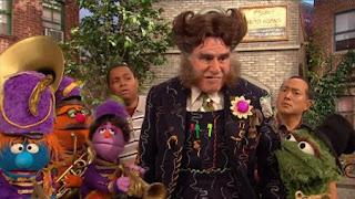 Alan, Chris, Oscar the Grouch, Mr. Disgracey, Richard Kind, marching band, Sesame Street Episode 4324 Trashgiving Day season 43