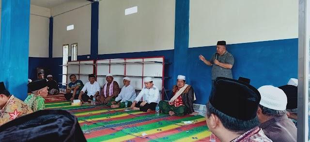 Al Haris Sisir Kecamatan Limun Bersama Madel dan Sejumlah Anggota DPRD Sarolangun