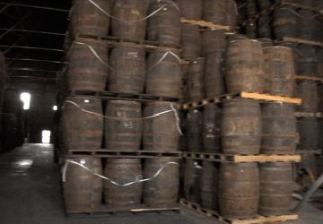 Barris de rum