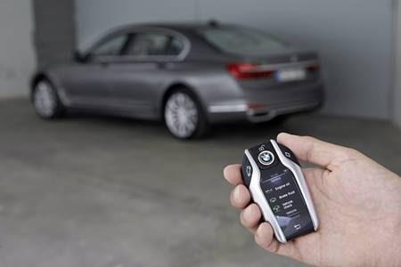 Chave inteligente de um modelo BMW