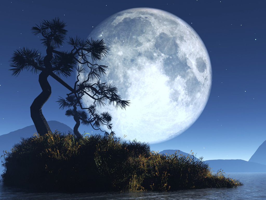 Distanse: Full Moon Wallpapers