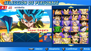 ISO DRAGON BALL Z TENKAICHI TAG TEAM LATINO PPSSPP