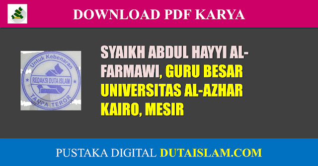 pdf kitab abdul hayyi al farmawi download
