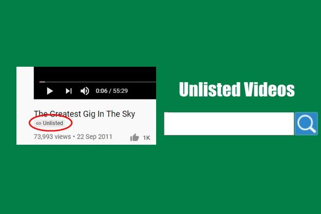 απαγορευμένα κρυφά βίντεο unlisted youtube