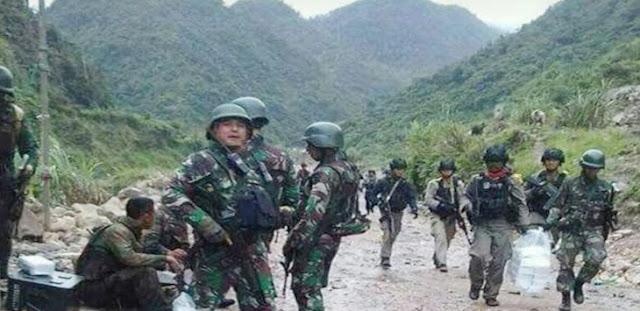 Kelompok KBB Kembali Bikin Ulah, Pos Yonif 755 Diserang, Satu TNI Gugur