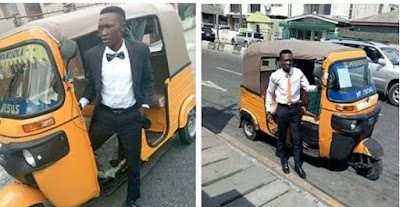 Lagos Corporate Keke Rider