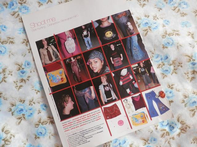1990's Street style, from J-17 magazine. secondhandsusie.blogspot.com #j17 #j-17 #magazines #1990s #2000s #retro #streetstyle