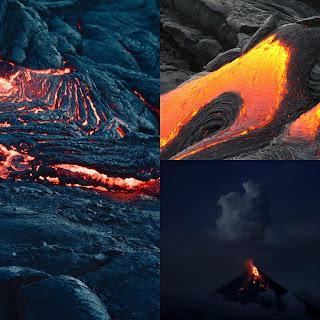 volcano,Eirthquick