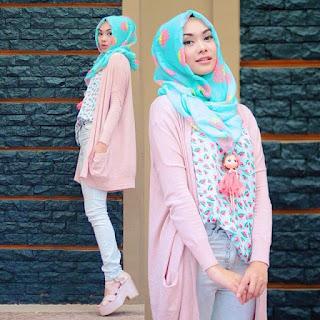 Contoh Baju Muslim Casual Modis