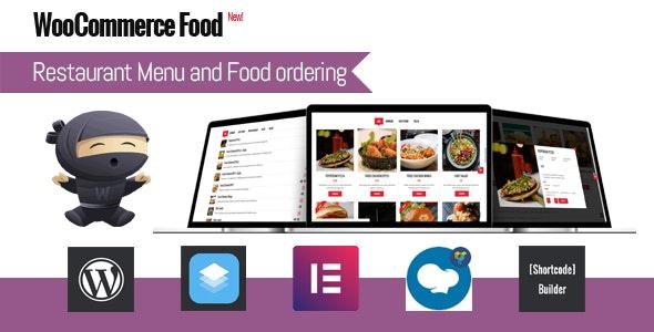 WooCommerce Food v2.5.1 - Restaurant Menu & Food ordering