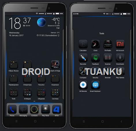 Tutorial Mengganti Tampilan Ponsel Xiaomi Jadi IOS BLACK Tanpa Root