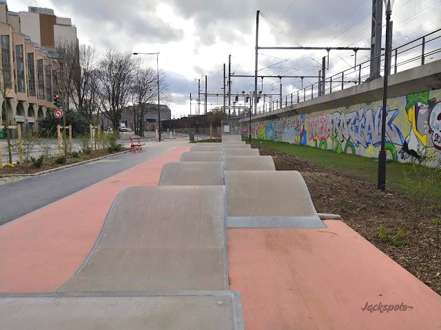 skate park bosses paris rue aubervilliers 18e