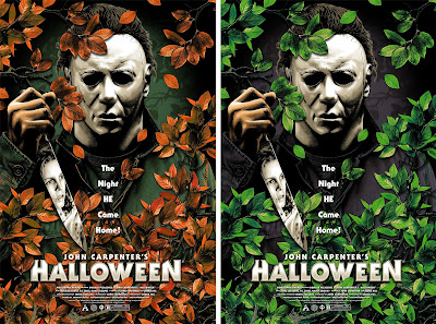 Halloween Movie Poster Screen Print by Anthony Petrie x Grey Matter Art