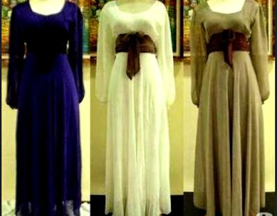 gaun pesta muslim modern untuk orang gemuk