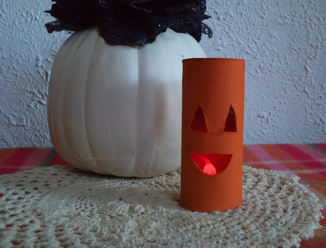 DIY Pumpkin Light