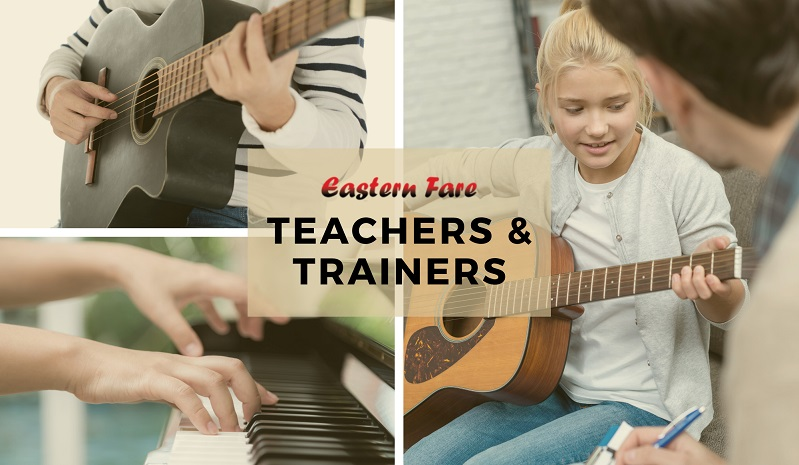 Music Teachers and Trainers at Eastern Fare Music Foundation