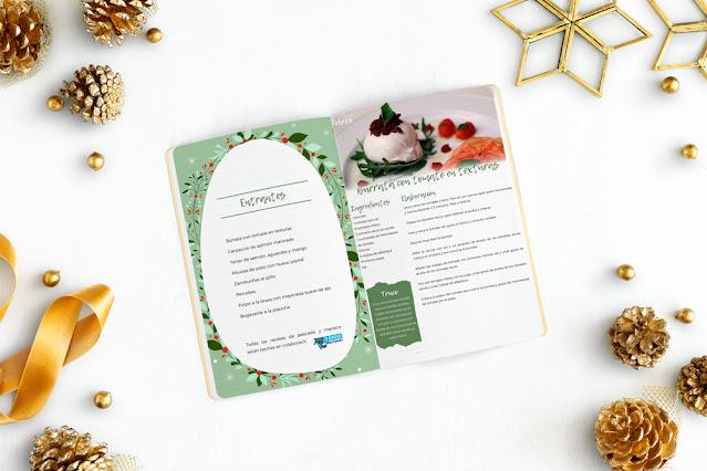 Recetario de Navidad (páginas interiores)