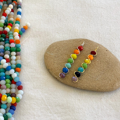 Rainbow Chakra Crystal Wire Pendant Instructions
