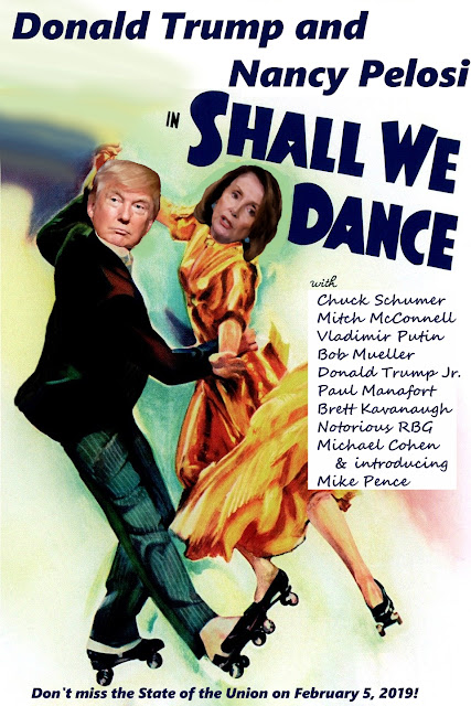 Donald Trump Nancy Pelosi Shall we dance