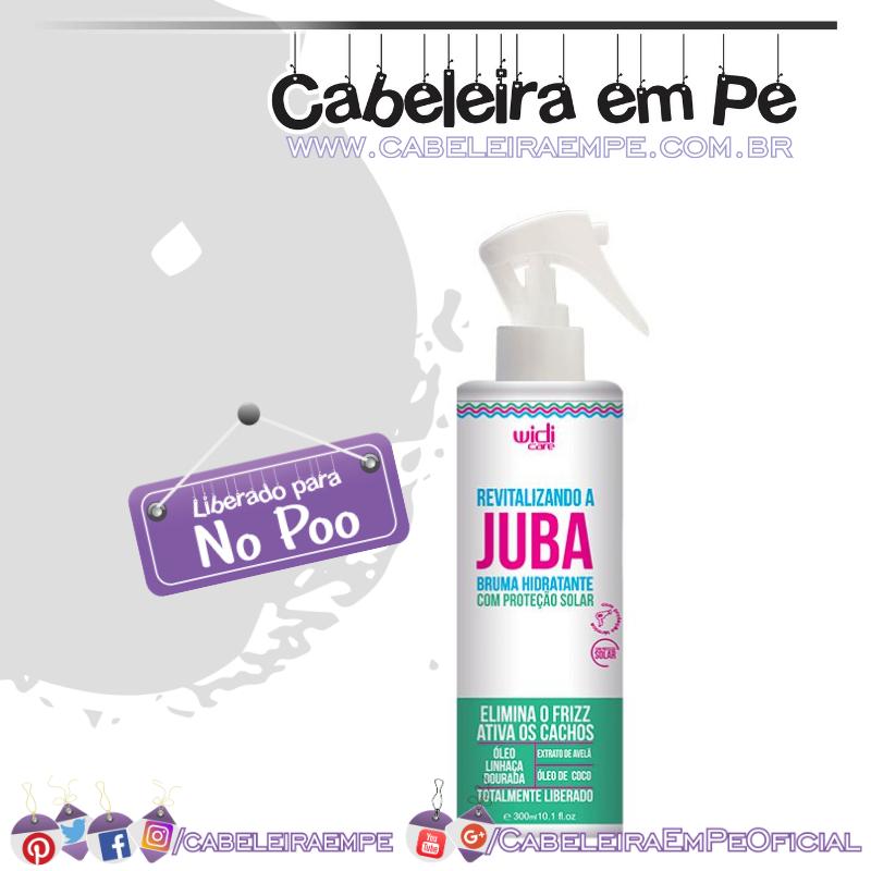 Revitalizando A Juba Bruma Hidratante - Widi Care (No Poo)