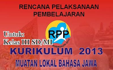 RPP Mulok Bahasa Jawa Kelas 3 K-2013
