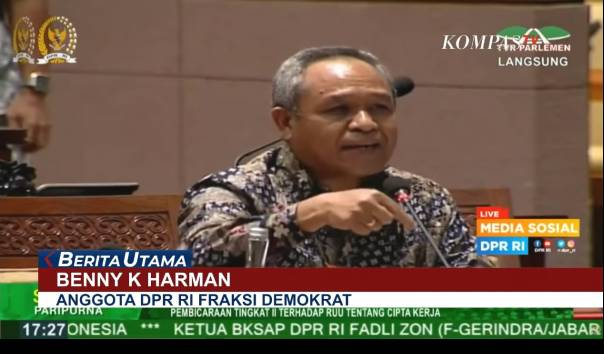 Benny K Harman: Pengurus Demokrat di Daerah Diancam Intel Polisi agar Dukung Hasil KLB