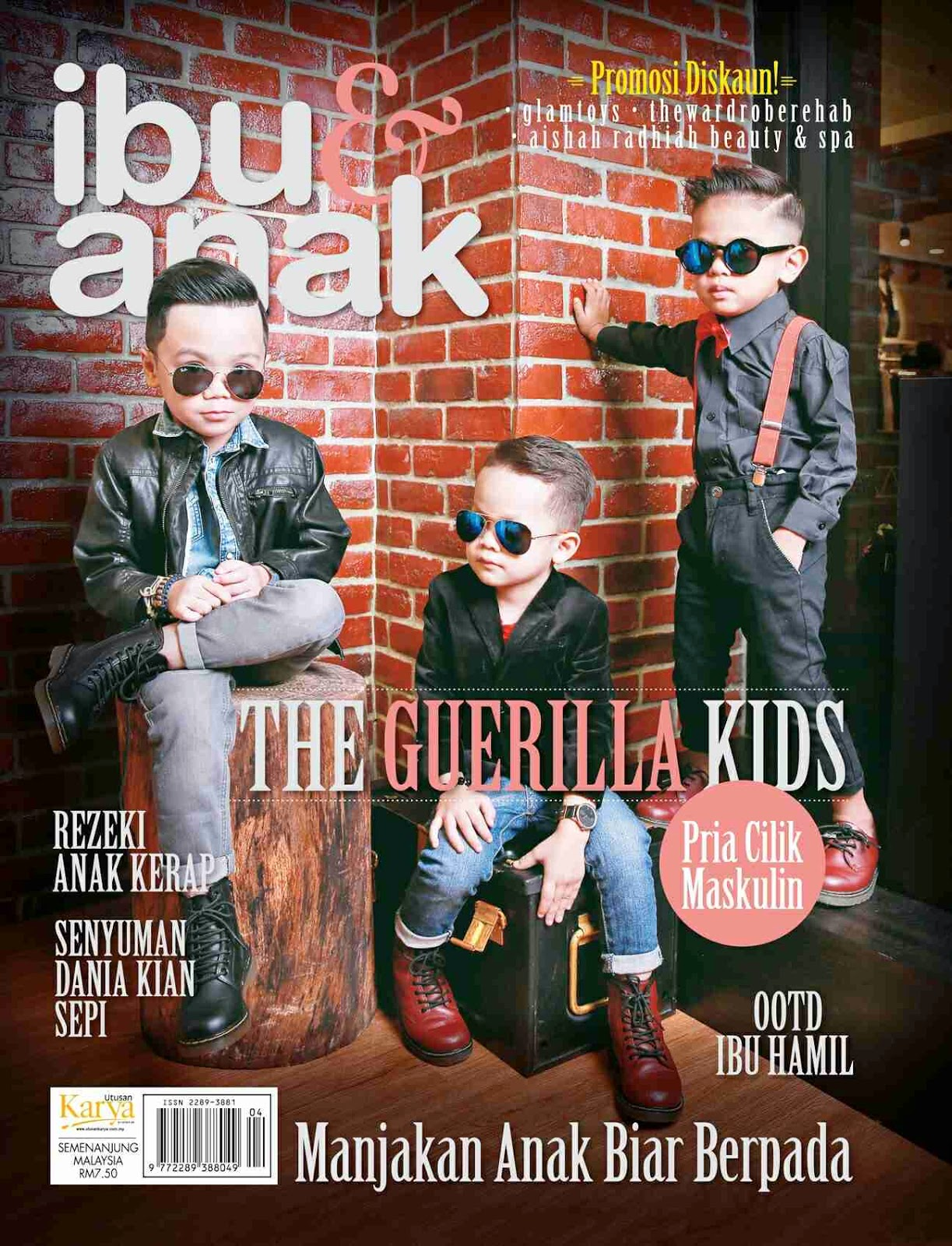 Ibu dan Anak for the opportunity! Grab the April 2015 Majalah Ibu dan