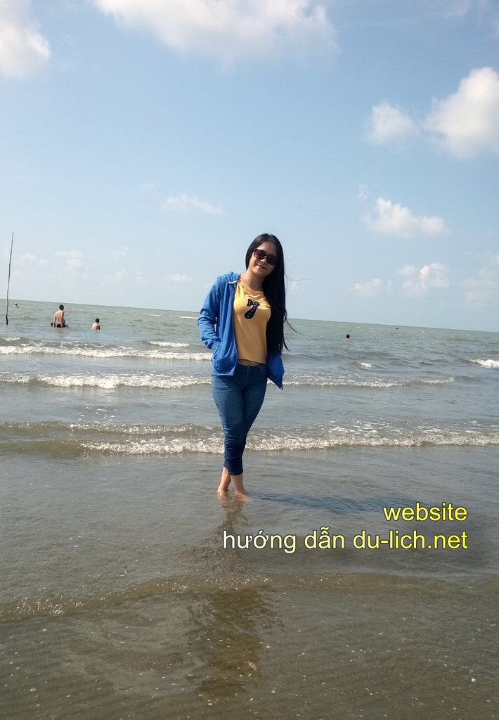Hình ảnh bãi biển Cần Giờ