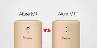 مقارنة بين  هاتف كوندور Condor Allure M1 و هاتف كوندور Condor Allure M1 plus