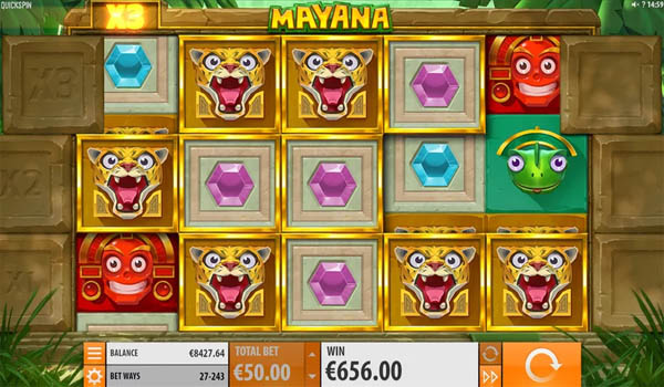 Main Slot Gratis Indonesia - Mayana (Quickspin)