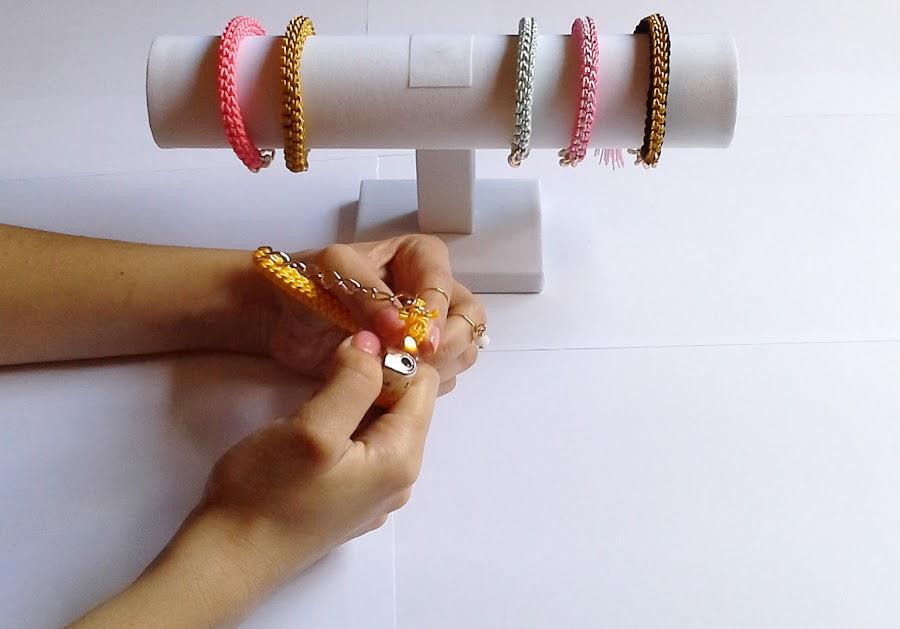 brazaletes de nudos