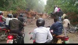 बालाघाट बैहर मार्ग पर हल्के वाहनों के आवागमन की अनुमति कलेक्टर श्री दीपक आर्य ने दी