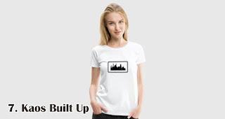 Kaos Built Up merupakan salah satu kaos kekinian yang bisa kamu jadikan pilihan untuk souvenir