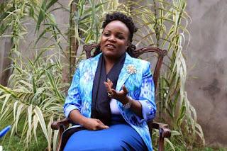 Slopes Media director which owns Mt Kenya Television Hon. Purity Wangui Ngirici. PHOTO | BANA