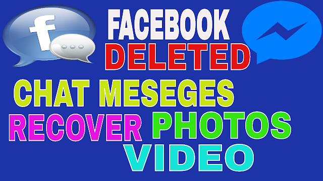 messeges deleted on facebook recover