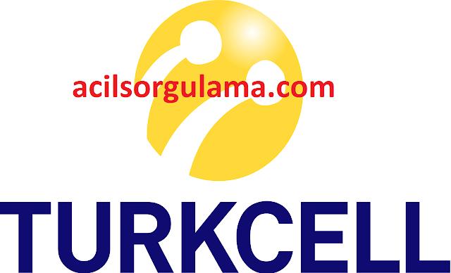 Acil Turkcell Fatura Sorgulama