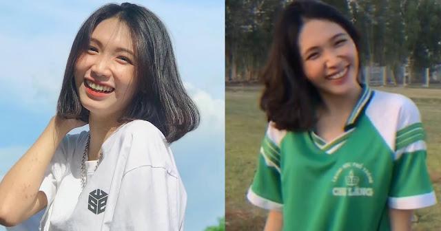 Nữ sinh An Giang 'đốn tim' cư dân mạng qua các clip thả thính kèm combo nụ cười 'chết người'
