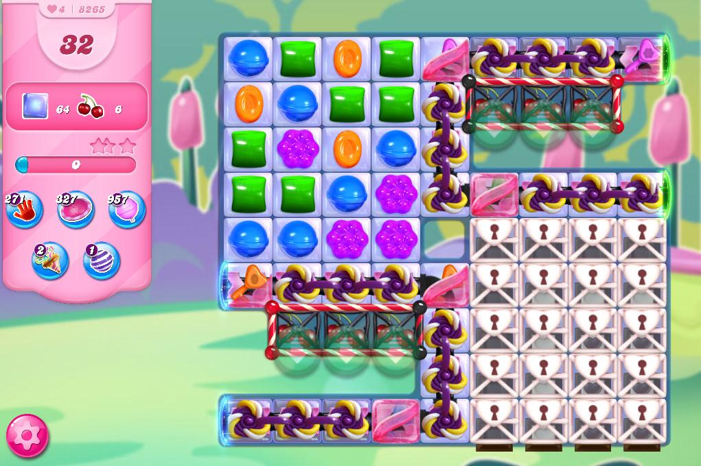 Candy Crush Saga level 8265