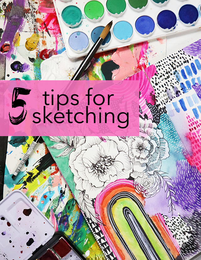5 tips for sketching