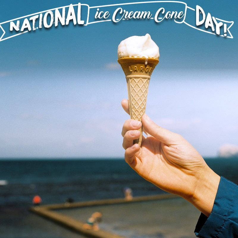 National Ice Cream Cone Day Wishes Images download