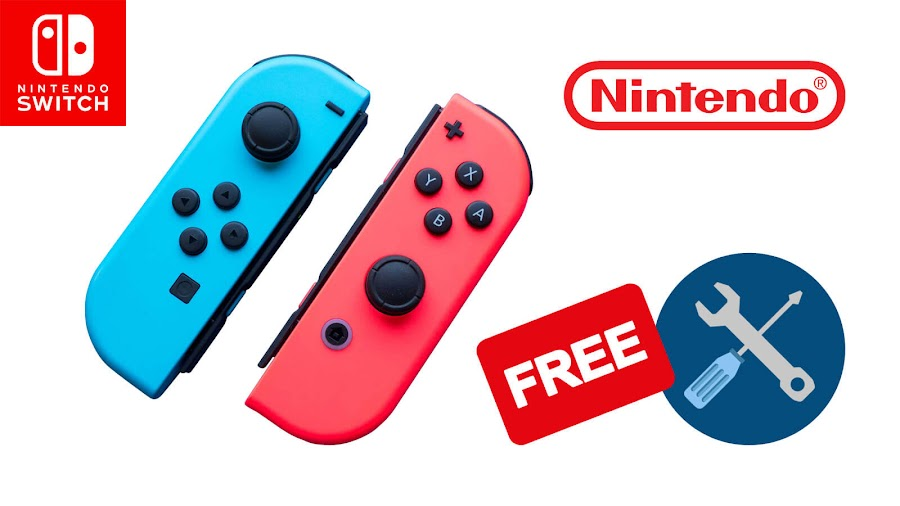 nintendo switch joy con repair free refund controllers customer service